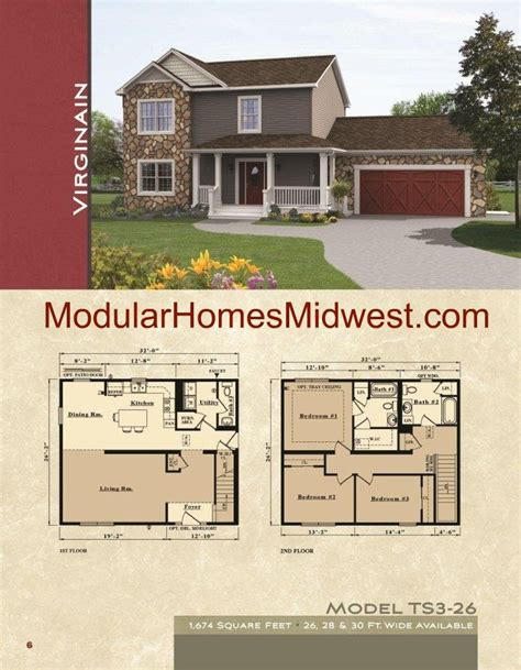 two colonial house plans two colonial modular home floor plans home