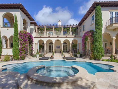 Mediterranean Kitchen Design Estate Of The Day 8 2 Million Mediterranean Mansion In