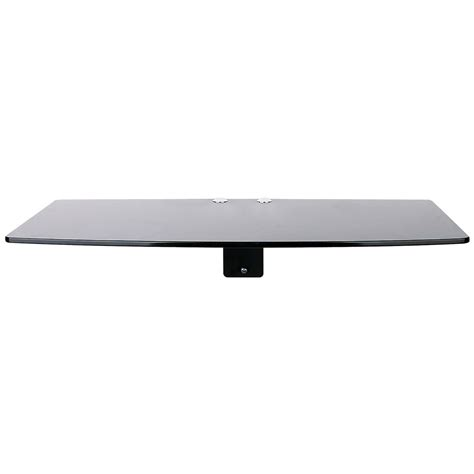 Floating Cable Box Shelf by Component Wall Mount Shelf Floating Dvd Console Cable