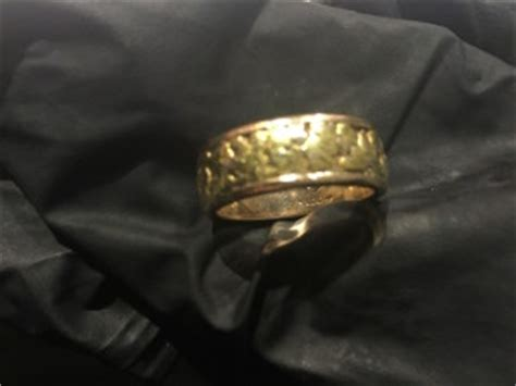 lost gold nugget ring in richmond bc found