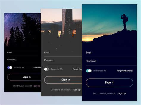 ui design tutorial medicine delivery app homescreen 50 modern sign up login form ui designs web graphic