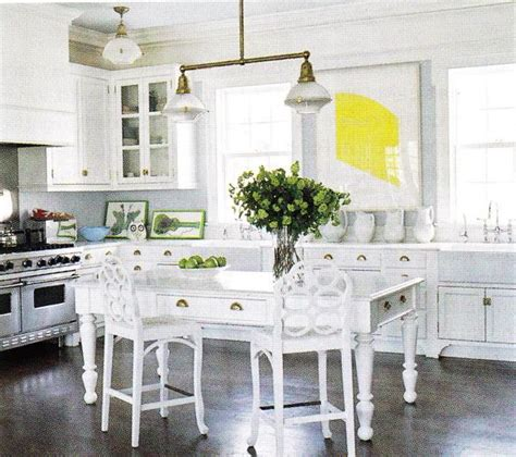 White Farmhouse Kitchen Table Farmhouse Table Cottage Kitchen B Five Studio
