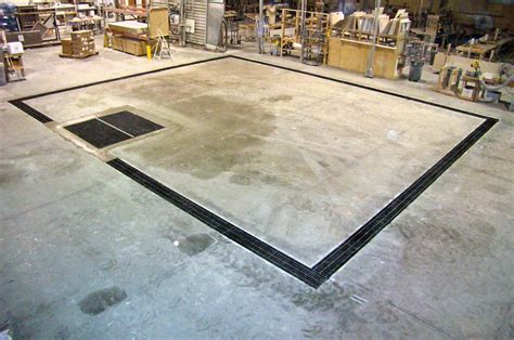 Garage Trench Drain by Trench Floor Drains In Concrete Pictures To Pin On