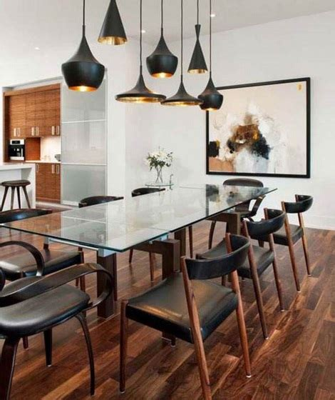 Contemporary Lighting Fixtures Dining Room Contemporary Dining Room Lighting Ideas Homeposh Home Interiors
