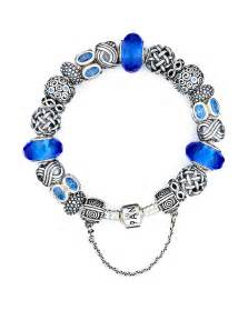 Ornaments To Personalize Pandora Bracelet Sterling Silver With Blue Charms Moments Collection Bloomingdale S