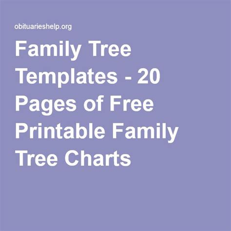 printable family tree books family tree templates 20 pages of free printable family
