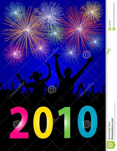 happy new year 2010 happy new year 2010 royalty free stock photography image
