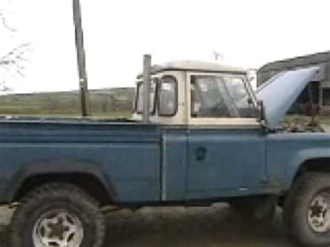 land rover cummins cummins land rover youtube