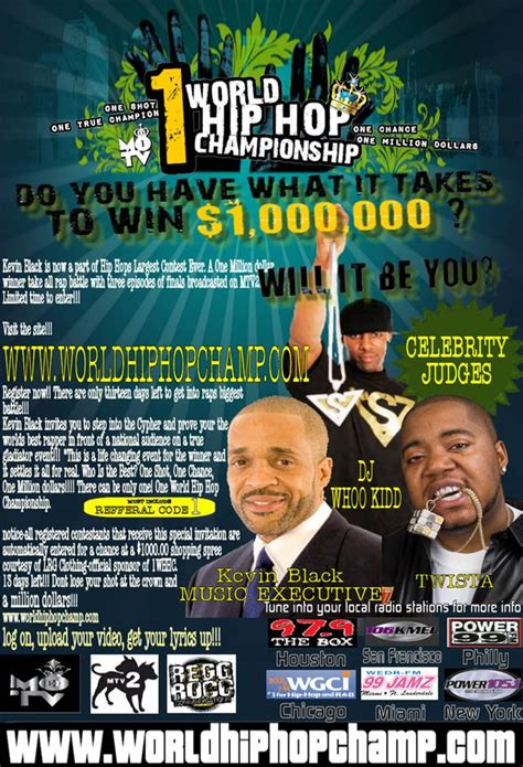 Win 1 Million Dollars Instantly - 1 world hip hop chionship win 1 million dollars
