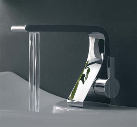 Designer Bathroom Fixtures Bathroom Faucet From Zazzeri New Rem Has Two Water Streams