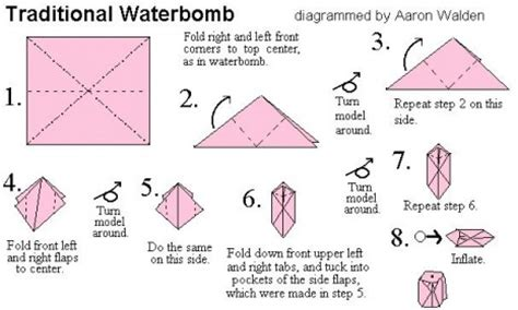 How To Make A Paper Bomb - origami origami