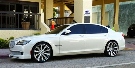Bmw 750li Custom Rims