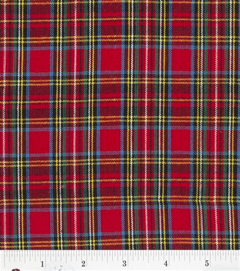 tartain plaid homespun fabric red blue tartan plaid at joann com
