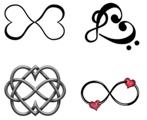 two hearts tattoo designs best 25 infinity ideas on infinity tat