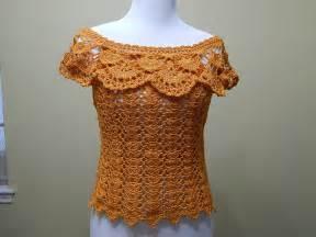 videos de como hacer blusas tejidas a crochet blusa crochet para verano parte 1 de 2 youtube