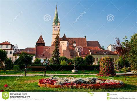 Gothic House Plans Medias Romania Stock Image Image Of Tourism