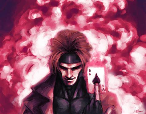 imagenes de x men en 3d gambit remy lebeau gambit fan art 36931344 fanpop
