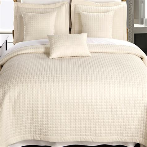 2 Piece Ivory Twin Xl Coverlet Set Free Shipping
