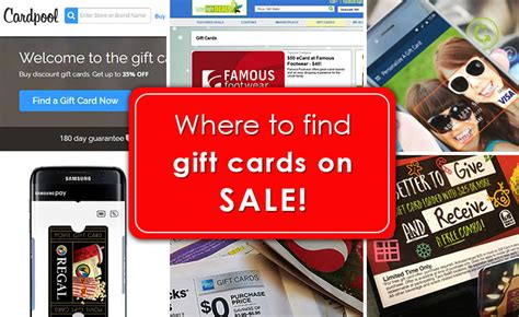 Where To Sale Gift Cards - the 10 best places to find gift cards on sale gcg
