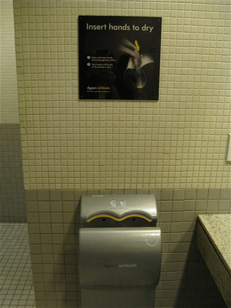 Dyson Airblade Hair Dryer dyson airblade dryer vs paper towel