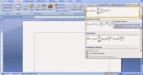 membuat rumus matematika di power point cara membuat dan menulis rumus matematika pada ms word