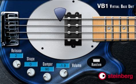best electric guitar vst kvr vb 1 by steinberg bass guitar vst plugin