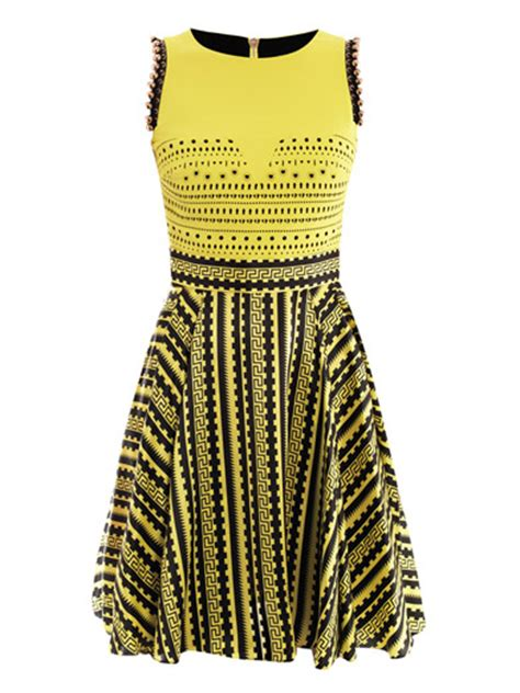 Versacedress With Cut Out Detail s fashion boudoir nicki minaj s killer versace