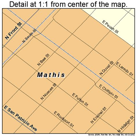 mathis texas map mathis texas map 4847040