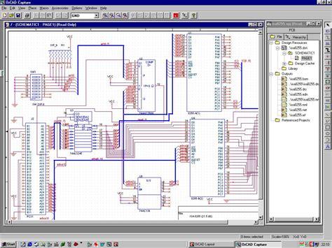 orcad 9 1 layout free download eeprom projekt 187 schaltplan und layout