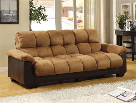 Tan Microfiber Sofa Bed Futon Caravana Furniture Microfiber Sofa Beds