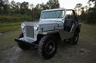 Jeep Cj3 Classic 1954 Jeep Willys Cj 3 High 2 2l Cj3 Custom