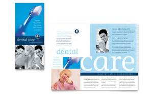 brochure templates office dentist office brochure template word publisher
