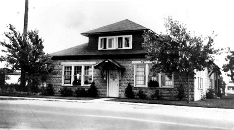 Grandview Motel Dining Room by House At 7104 Lundy S Which Later Became Falls Manor