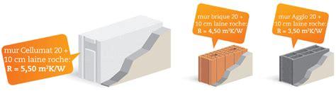 Briques Monomur Rt 2012 by Isolation Thermique Optimale Avec Le B 233 Ton Cellulaire