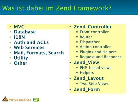 controller layout zend php ug karlsruhe zend framework introduction