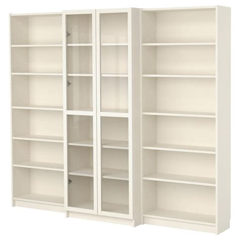 billy bookcase doors hack billy combina 231 227 o de estante c portas branco ikea