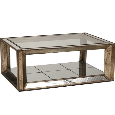 Mirrored Coffee Tables Mirrored Coffee Tables
