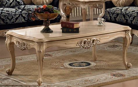 Traditional Luxury Coffee Table Hd30 Classic Console Tables