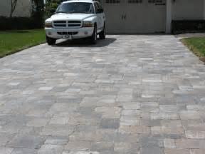 Patio Stone Driveway by Brick Pavers Thumbs Brick Paver Driveway Orlando Stone