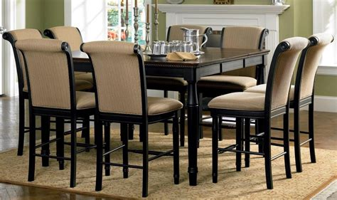 counter height dining room furniture amaretto counter height dining room set 101828 from coaster 101828 coleman furniture