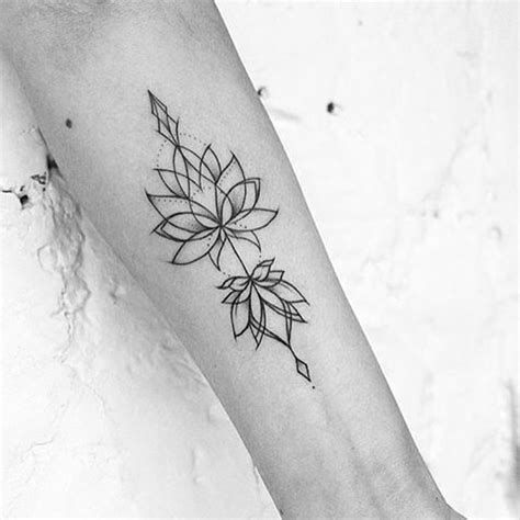 tattoo lotus geometric image result for geometric lotus tattoo pinteres