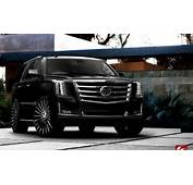 Lexani Luxury Wheels  Vehicle Gallery 2015 Cadillac Escalade