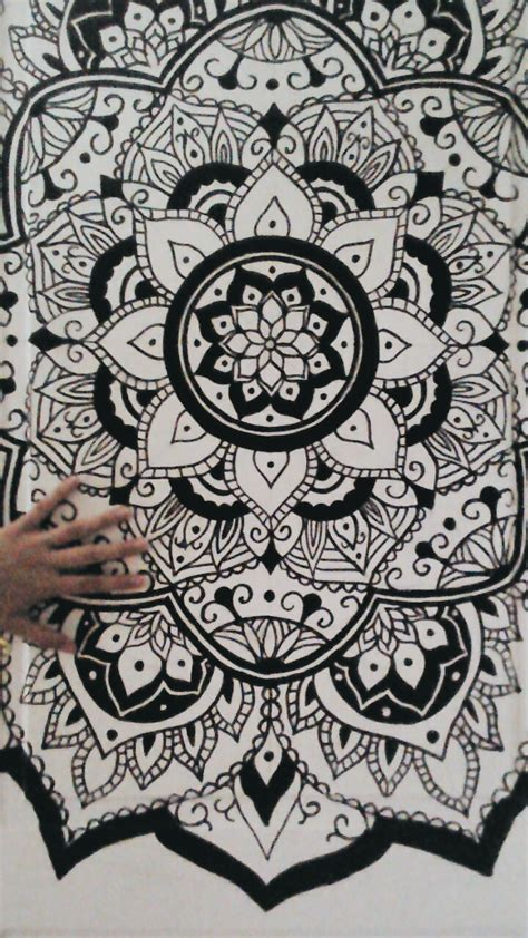 design art tumblr mandala designs amalia e my door was kinda too white