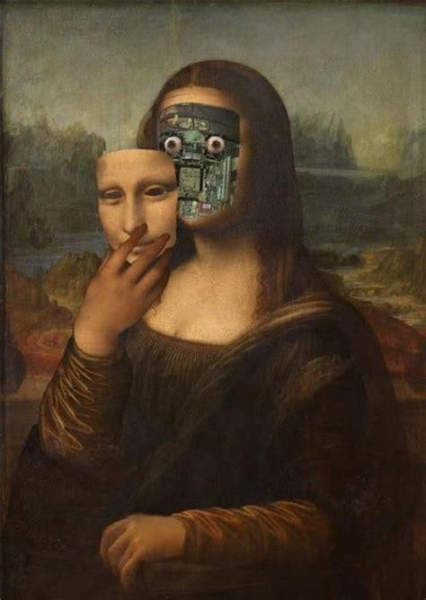 Beautiful Gamis Monalisa the secret the smile mona robot