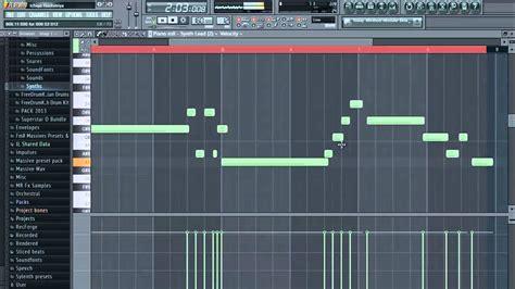 tutorial fl studio demo how to make a trap beat demo fl studio youtube