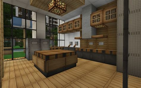 Kitchen Ideas Minecraft Minecraft Modern House Kitchen Search Minecraft