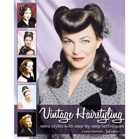 Vintage Hairstyles Book | pinup hairstyle makeup books the rockabilly lifestyle