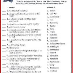 worksheets for social studies 3rd grade 3rd grade