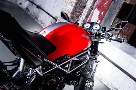 Motorrad Spiegel Tacho by Ducati Umbau Motorrad News
