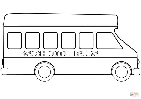 school bus coloring pages vitlt com